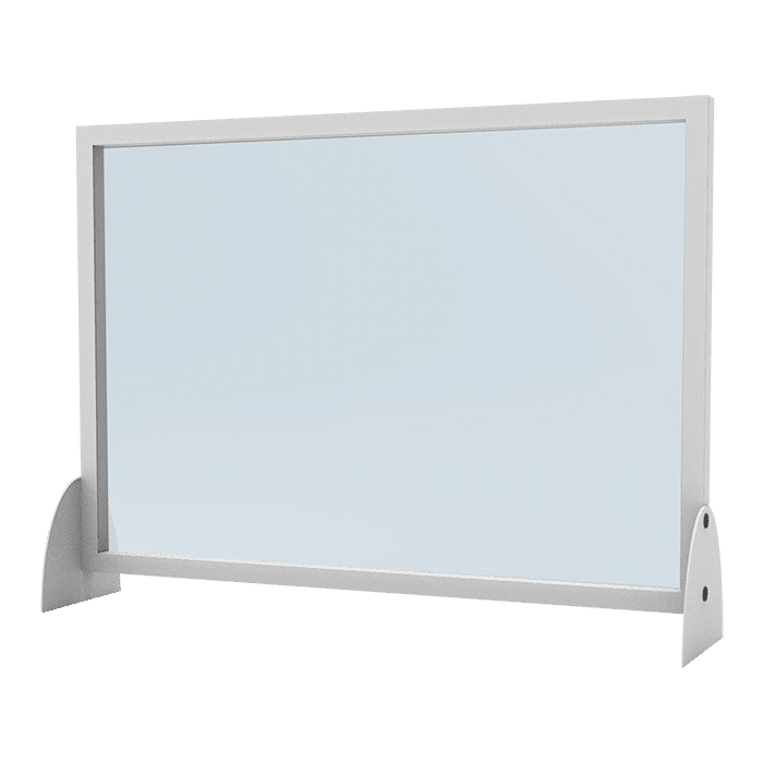 barriera in plexyglass