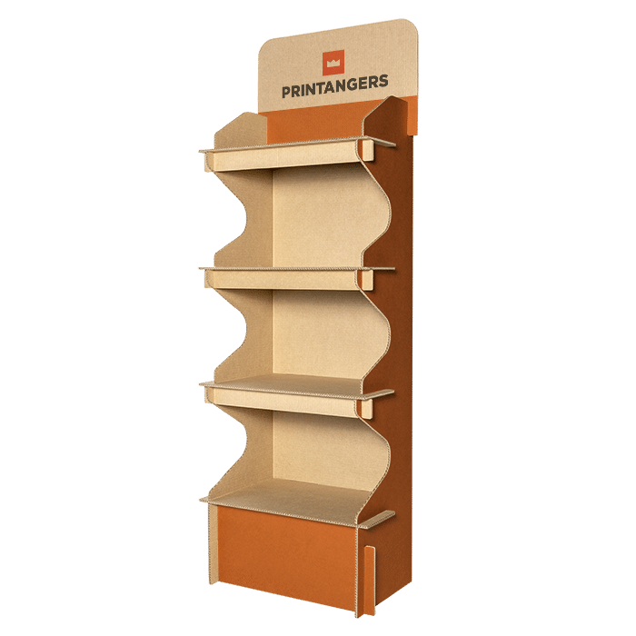 espositori in cartone stampati