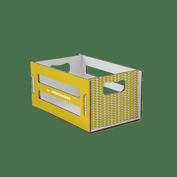 packaging a forma di cassetta in cartone