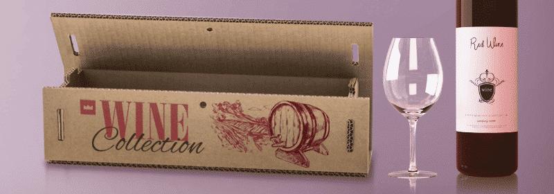 scatole vino personalizzate di cartone