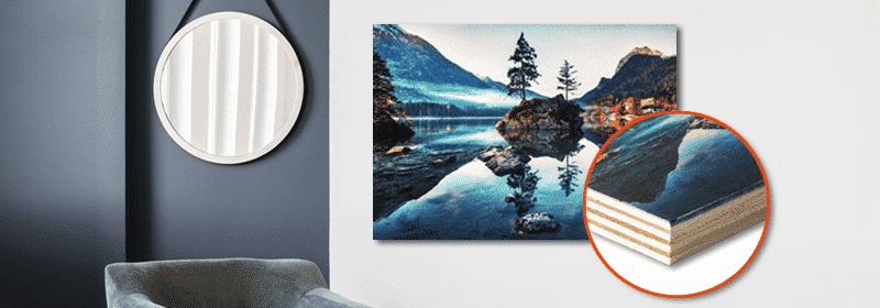 foto su legno decorative