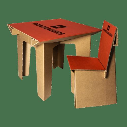 tavoli in cartone