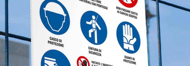 stampa cartello in polionda