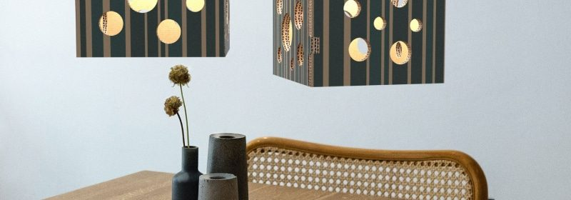lampade di design in cartone printangers