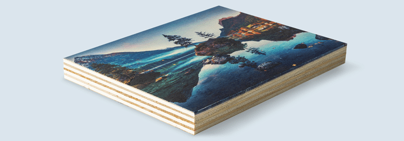 stampare foto su legno con Wood Panel